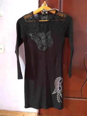 Платье теплое,верхняя часть кружева, в Бишкек