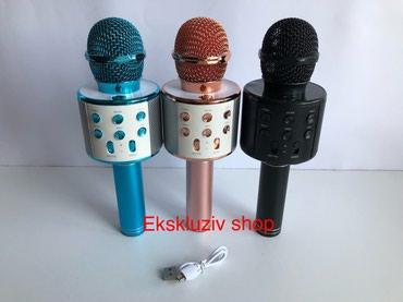 KARAOKE bluetooth mikrofon sa zvucnikom i radio prijemnikom u sebi - Belgrade
