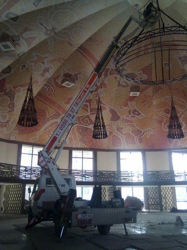 услуги автовышки мерс 18 метров мин выезд на 2 часа на длительное в Бишкек