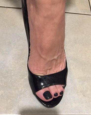 Zara woman μαύρα λουστρίνια peeptoes με τακούνι από ξύλο . Αφόρετα.  σε Υπόλοιπο Αττικής - εικόνες 3