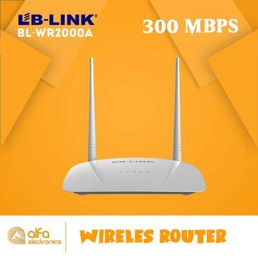 Lb-link BL-WR2000 routeri 3 - ü birindədir. Həm router həm akses point