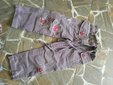 Pantalone za devojcice,mogu da se podese I kao tricetvrt,marke filip