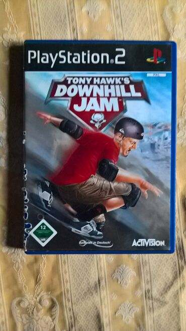PS2 & PS1 (Sony PlayStation 2 & 1) | Srbija: TONY HAWKS DOWNHILL JAM=playStation 2=ispravne su testirane juce