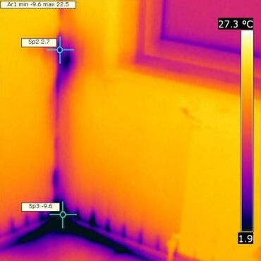 Услуги тепловизора Выявление утечек тепла и воды Вызов платный
