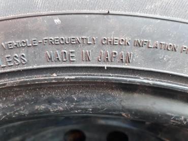 Колесо новое на штампованном дискe 1шт. 205/60R16 DUNLOP SPORT JAPAN  в Каракол - фото 6