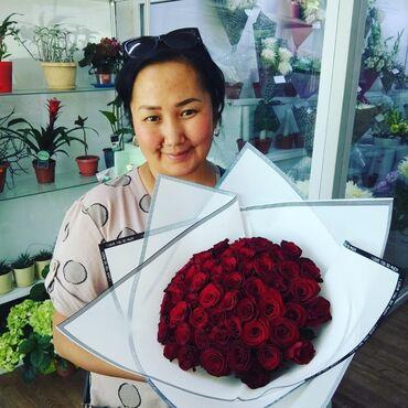 Акция 51 роза всего за 600 сом