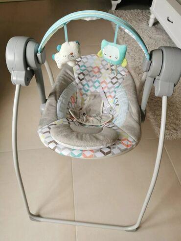 Za decu - Srbija: Ljulja za bebe kao novo platno ali nazalost ne radi ljuljanje. Moze da