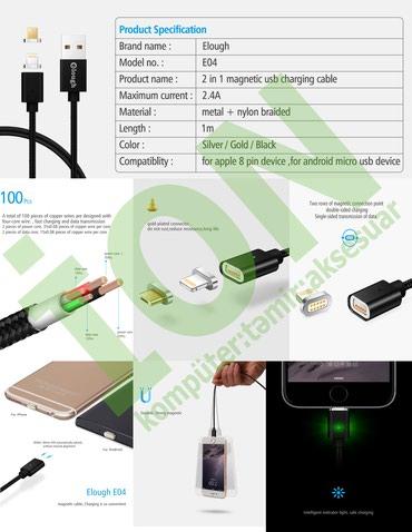MAGNİT iphone və andrid üçün USB kabellər в Bakı