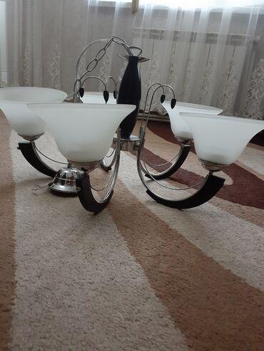 5 lampali lustur.yenidi Qiymet 60azn