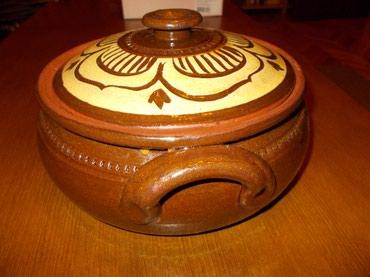 Ostalo | Lazarevac: Keramička posuda. Nikad upotrebljena novooštećena (napukla) keramička