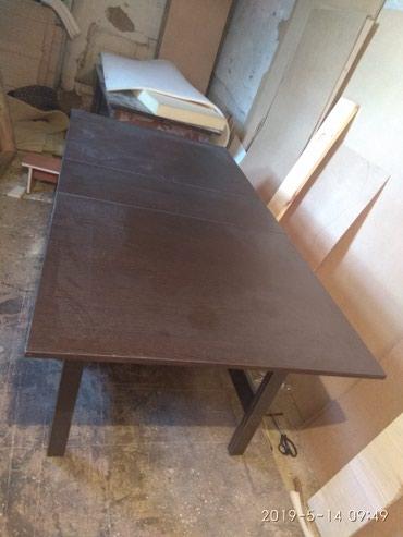 стол трансформер чёрного цвета в Кыргызстан: Стол книжка (трансформер)