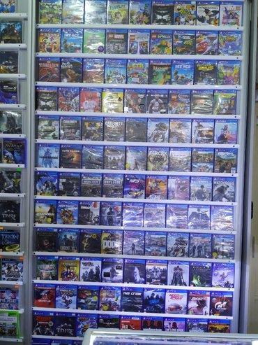 Электроника в Баку: Playstation 4 oyunları.  Sony PlayStation 4 oyunlarının və aksesuarl