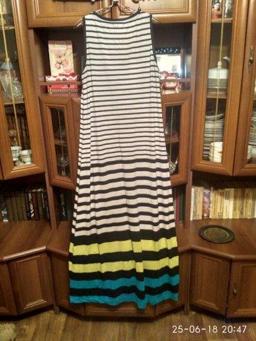 Платье в пол от Селы в хорошем состоянии размер 50-52-54 в Бишкек