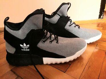Muška obuća | Srbija: Adidas patike, 45 velicina u odlicnom stanju,nosene jednom. Kvalitet