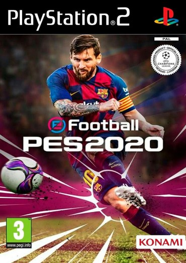 PES 2020 Ps2 üçün. PS2 ye aid her oyun var. Yeni