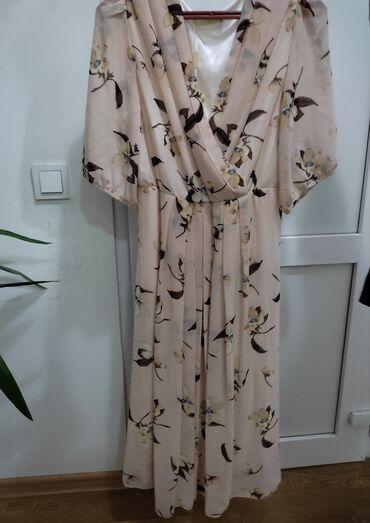Личные вещи - Ленинское: Лёгкое летнее платье Размер: 54 Цена: 1500 сом (Совсем новое платье)