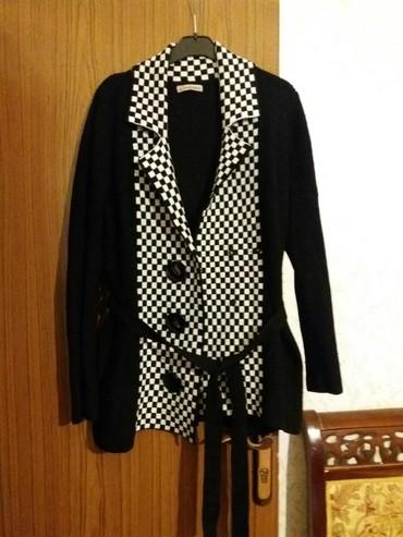 женские-черные-свитера в Азербайджан: 42-44 razmer jaket