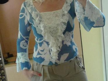 Elegantna bluzica uz telo od tila i cipke kao - Valjevo