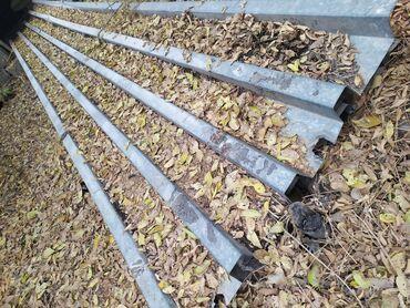 кровля крыши бишкек в Кыргызстан: Кровельные листы оцинкованные. 6 метров 4 штуки