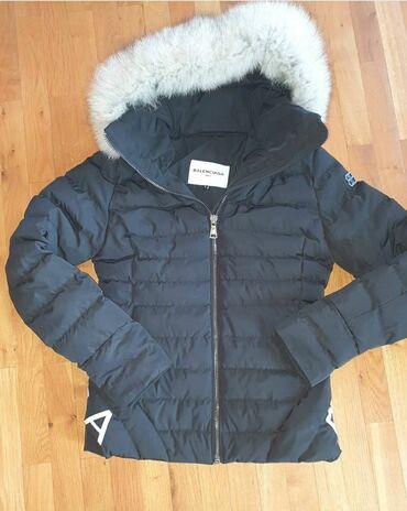 Jakne zenske - Srbija: Zenska jakna Balenciaga bukvalno kao nova. Nosena jednu sezunu, bas
