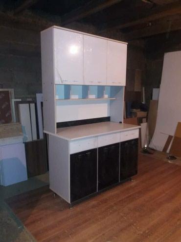 Кухня цена 9000 доставка размер 120 и на заказ делаем любой цвет в Бишкек