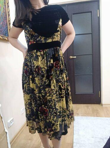 Продается платье панбархат Размер 42-44 М-ЛИндивидуальный пошив из