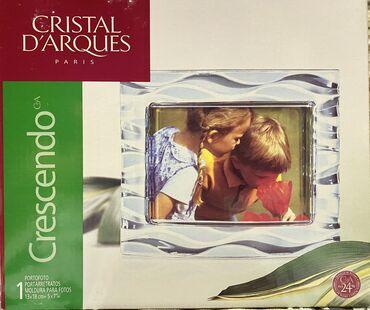 Ev üçün dekor Bakıda: Şəkil çərçivəsi Cristal D'ArquesФото рамка Cristal D'arques Материал