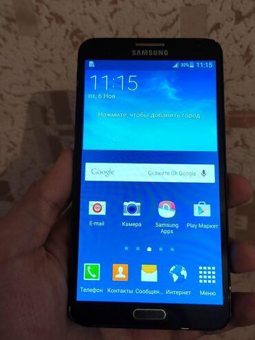 Samsung galaxy note 3 teze qiymeti - Azərbaycan: Samsung galaxy note 3 32gb hec bir problemi yoxdu ruckasina kimi her