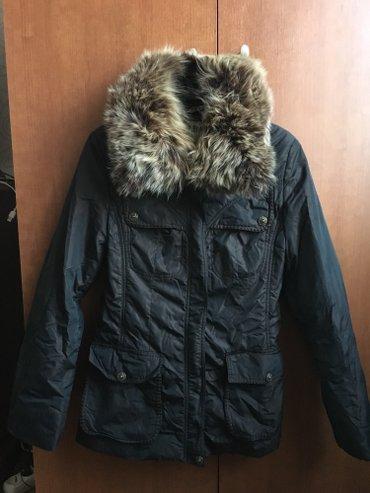 Куртка пуховик б/у. Зима. Размер М. в Бишкек