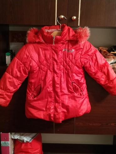 детская куртка зимняя в Кыргызстан: Детская зимняя куртка на девочку 3-4х лет