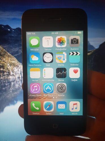 iphone 4 telefonunu al - Azərbaycan: İşlənmiş iPhone 4 16 GB Qara