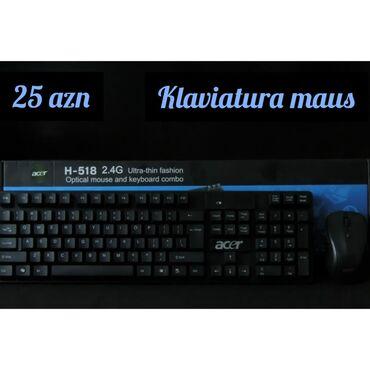 Klaviaturalar - Azərbaycan: Acer klaviatura+mausÇeşidli və orginal məhsullar ən ucuz