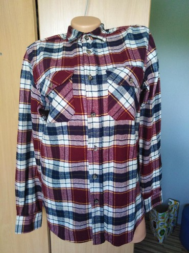 Predivna potpuno nova košulja bordo dezena, S vel. Moze i M.. Moze - Smederevo