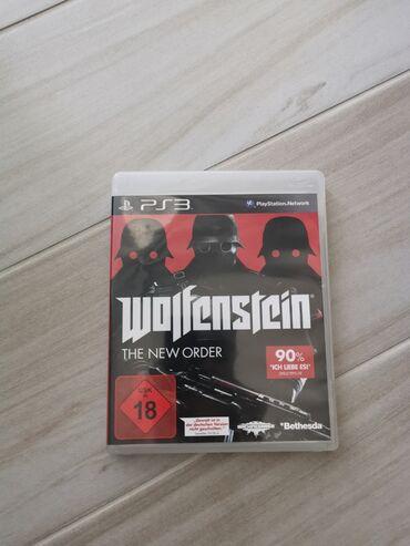 Ps3 igrice - Srbija: Wolfenstein PS3 igrica!!!