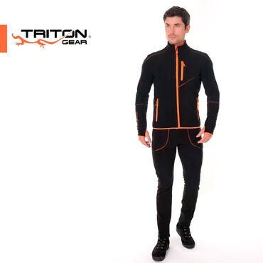 Спортивные костюмы - Кыргызстан: Флисовый костюм TRITON RICH ⠀Используется отдельно в прохладную