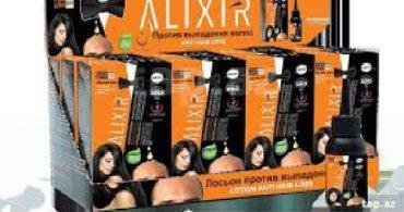 Alixir saç lasyonu.Saç tökülməsinə qarşı effektiv vasitə.Topdan