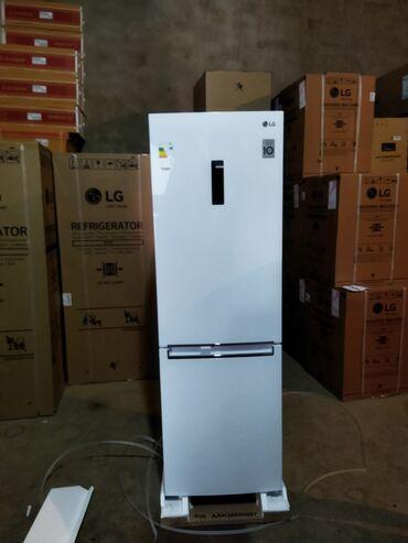 lg g pro e980 в Азербайджан: Новый Двухкамерный Серебристый холодильник LG