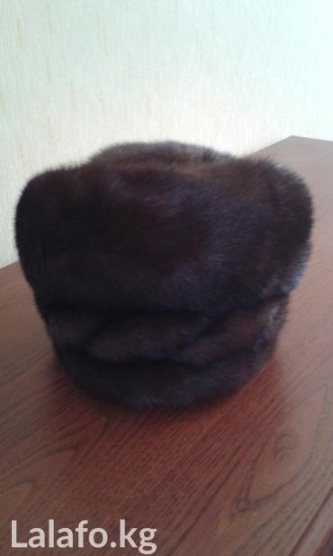 Женская норковая шапка, новая в Бишкек