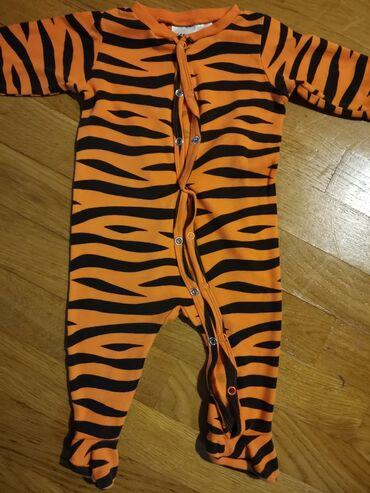 Bodi - Smederevska Palanka: H&M tigrasta zeka /pidžama. Vel 62, kao nova