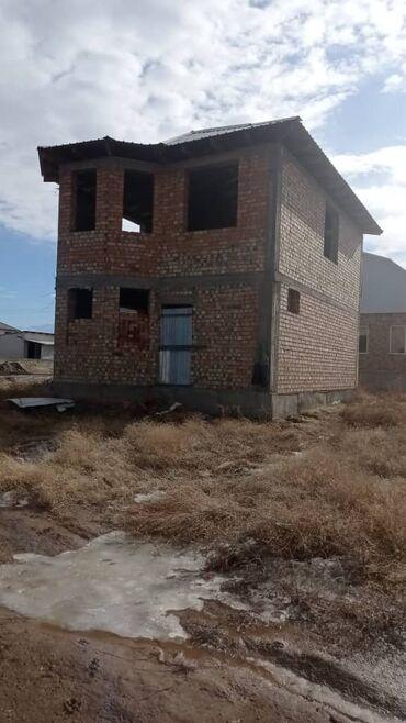 Новостройки - Кыргызстан: Продам 2х уровневый недостроенный кирпичный дом ж/м Ак-Ордо 2 по