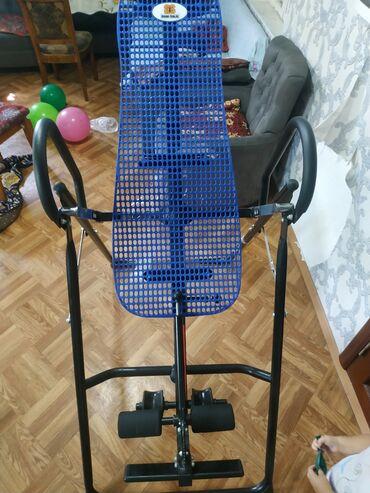Спорт и хобби - Ош: Инверсионный стол Элит. Фирменный. Вес до150 кг Анатомическая спинка