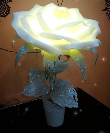 Светильники-розы, торшеры-розы. в Лебединовка