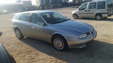 Alfa romeo 156 2 mt - Srbija: Alfa 156 polovni delovi. Dostava
