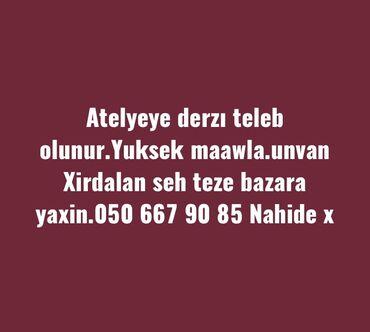 Tikiş - Azərbaycan: Tikiş