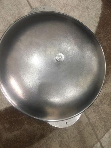 плита чугунная в Кыргызстан: Чугунный казан, 10 литров, для газа и плиты  Российское производство
