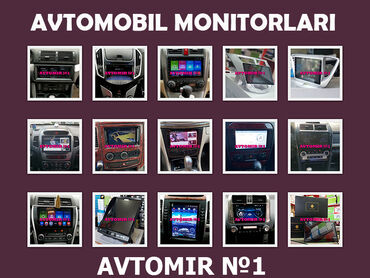 weier monitor - Azərbaycan: Avtomobil monitoru  Avtomobil monitorları.  DVD-monitor hər cür avtomo