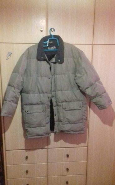 Μπουφάν ανδρικό, size XXL, χρώμα : μπεζ-λαδί, πολύ ζεστό και άνετο