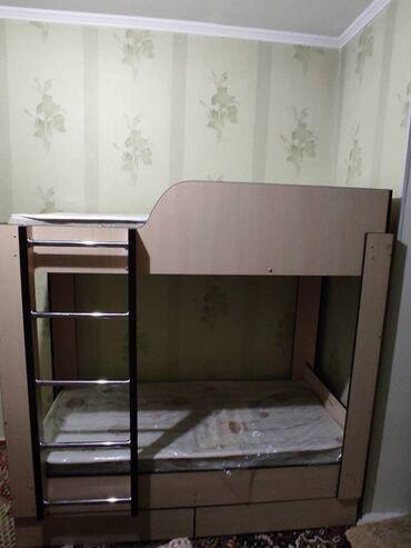 63 объявлений: Продаю Детская двухярусная кровать 9000 сом