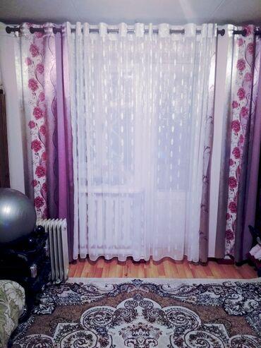 Продаю шторы за 1000сом тюль 3.5м по бокам 1.2 м