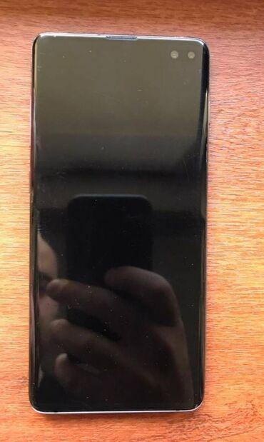 Samsung Galaxy S10 Plus   128 GB   Qara   Simsiz şarj